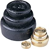 Winware Imperial Weight Set (Consists of: 1lb, 8oz, 4oz in iron, and 2oz, 1oz, 0.5 oz, 0.25oz in brass)