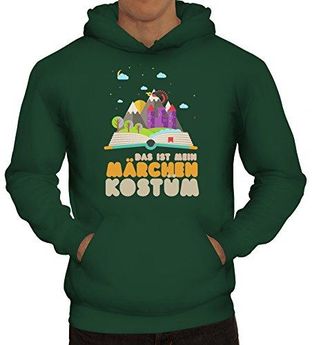 Lustige Kostüme Märchen (Fasching Karneval Kapuzenpullover mit Das ist mein Märchen Kostüm Motiv von ShirtStreet, Größe:)