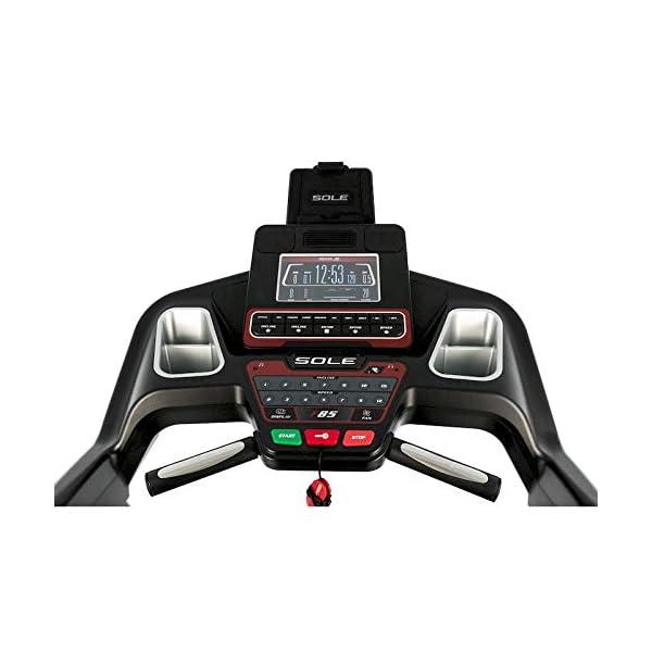 Sole Fitness Tapis Roulant F85-20 Bluetooth 4.0/7.0 HP 22km/h 585x1525 App Ready (Modello 2020) 3 spesavip
