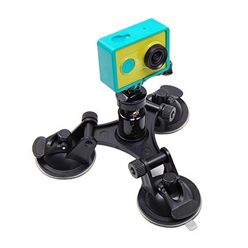 JOYOOO Ventosa Adattatore Treppiede per Xiaomi Yi Foto e videocamere