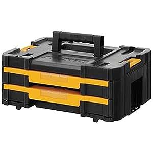 Étui de rangement TSTAK IV Boîte à outils peu profonde (tiroirs) Outils Étui