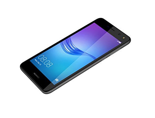 Huawei Y6 2017 SIM doble 4G 2GB Gris - Smartphone  12 7 cm  5    1280 x 720 Pixeles  Plana  Multi-touch  Capacitiva  1 4 GHz