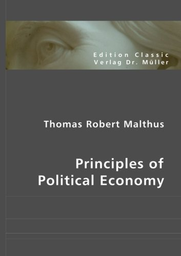 Principles of Political Economy: ghost by Thomas Robert Malthus (2006-12-20)