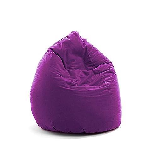 'Sitzsack Mona Lila Uni Microfaser CA. 150