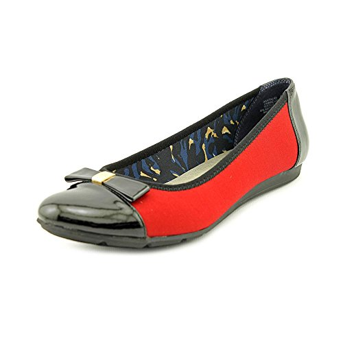 Anne Klein Sport Atalya Toile Chaussure Plate Red Mul
