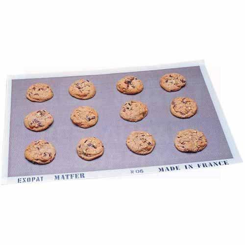 Matfer Exopat 16-3/8 inch x 24-1/2 inch Non-Stick Baking Mat by Matfer Bourgeat Exopat Non-stick Baking Mat