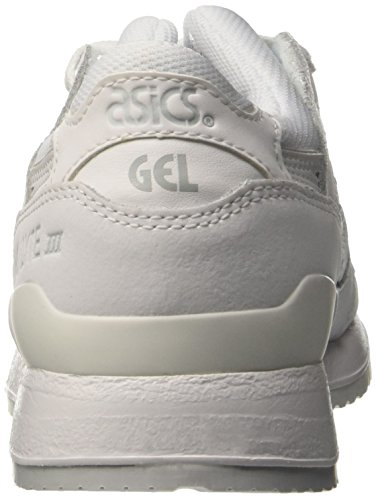 Asics Gel-Lyte III, Baskets Mode Mixte Adulte Blanc (White/White)