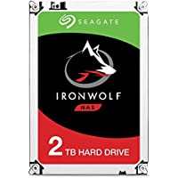 Seagate ST2000VN004 IronWolf 2 TB interne NAS Festplatte (8,89 cm (3,5 Zoll) 64 MB Cache, 5900 RPM, Sata 6 Gb/s)