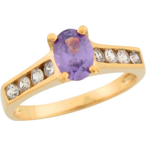 14ct-yellow-gold-synthetic-amethyst-channel-set-white-cz-ladies-fashion-ring