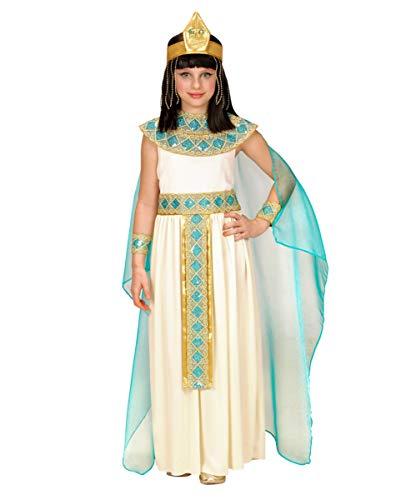 Horror-Shop Deluxe Cleopatra Kinderkostüm 4-teilig XS / 4-5 Jahre