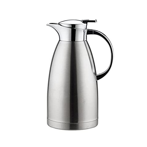 Haosen 1.8 Litre Stainless Steel Thermos Coffee Carafe, Double Walled