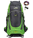 onyorhan 70L Travel Backpack Grande randonnée pédestre Alpinisme Ruck Sack Water...