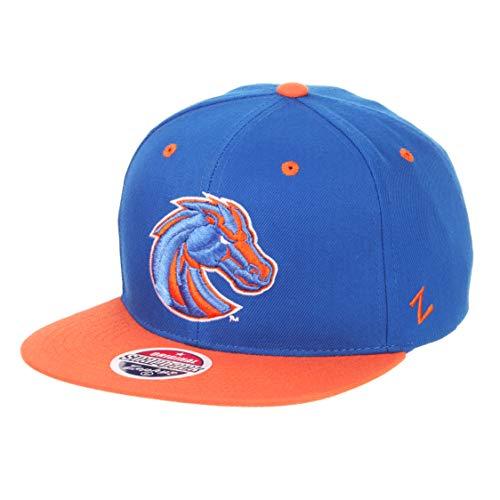 Zephyr Z11Superstar Snapback Cap Flat Bill-NCAA, eine Größe verstellbar Baseball Hat, Boise State Broncos (State Boise Flat Bill)