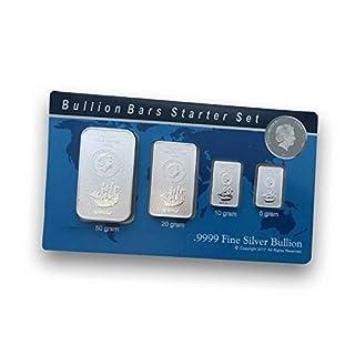 Silberbarren Münzbarren COOK ISLAND - prägefrisch mit Zertifikat (85g (Starterset))