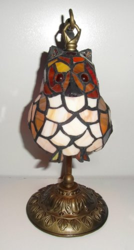 tiffany-table-lamp-hanging-owl-design-amber