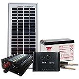 Kit solaire pour site isolé 12V 5W 20Wh/jour