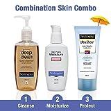 Neutrogena Combination Skin Care Kit (Combo Of 3)