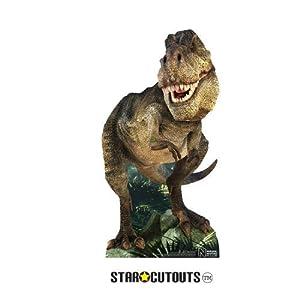 StarCutouts Ltd SC1327 Natural History Museum T.Rex Dinosaurio (Star Mini cartón Standee Fans, Amigos, coleccionistas y Familia Altura 54 cm