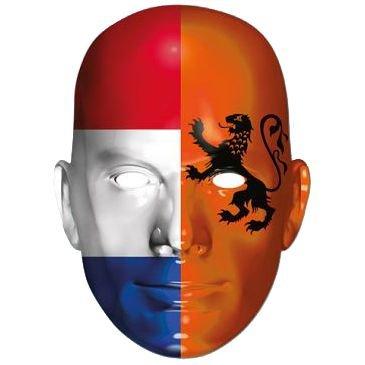 Werder Holland International Flag Masks Card Mask