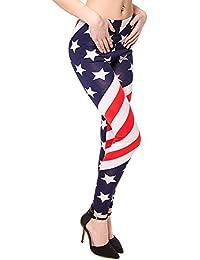 Blue Banana USA Flag Leggings (Mehrfarbig)