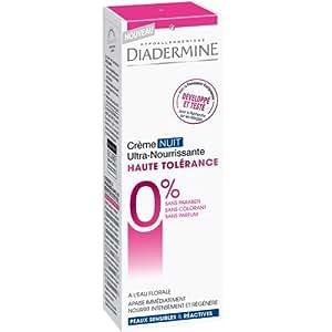Diadermine - Soins pour la Peau - Haute Tolérance - Ultra-Nourrissante Nuit