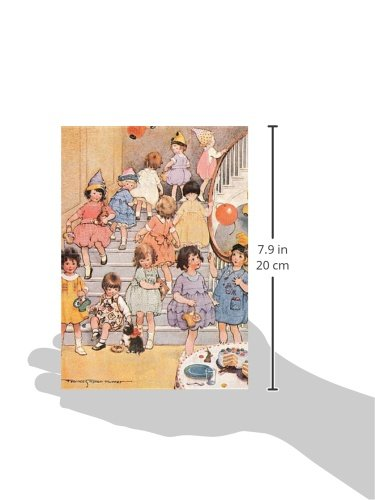 Little Girls at Party - Birthday Greeting Card