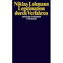 Legitimation durch Verfahren (suhrkamp taschenbuch wissenschaft)