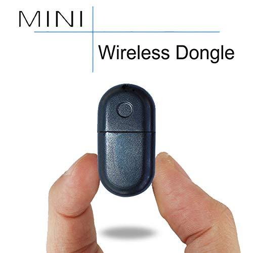 NANAD tragbarer Bluetooth-Empfänger, Ersatz-Bluetooth-USB-Dongle für Fitbit Flex/Force/One/Charge/Surge/Charge HR Activity Tracker, Schwarz, Free Size