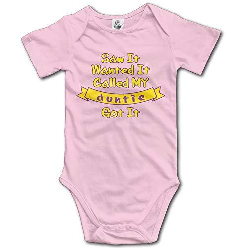 dsfsa Babybekleidung Called My Auntie Got It Novelty Baby Bodysuit Unisex Baby Onesie Creeper Carters 5 Pack Onesies