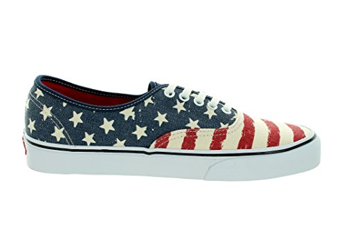 Vans V18BH1P, Scarpe Sportive Unisex Americana Dress Blues