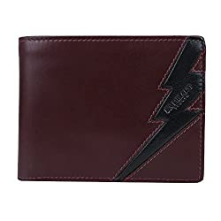 Da Milano MW-1077 Brown Leather Men Wallet