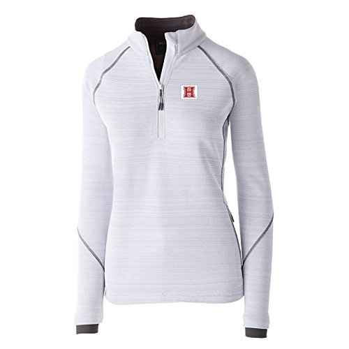 Crimson Pullover Hoody (Ouray Sportswear NCAA Harvard Crimson Women's Deviate Pullover Jacket, Large, White)
