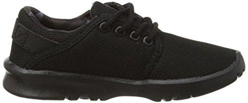 Etnies Scout, Low-Top Sneakers mixte enfant Noir (Black/Grey/Black005)