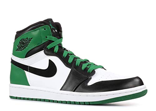 AIR Jordan 1 HIGH Retro 'Boston Celtics' - 332550-101 - Size 47.5-EU (Jordan 332550 High 1 Retro Air)