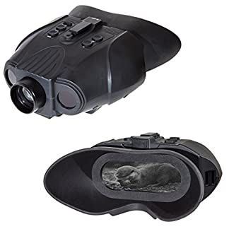 Nightfox 120R Widescreen Rechargeable Recording Digital Infrared Night Vision Goggles - 3x20