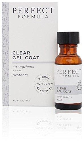 Perfect Formula Résine transparente Gel Coat pour ongles 18 ml