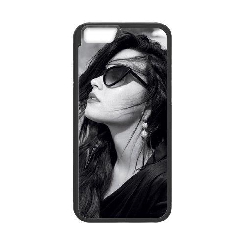 Demi Lovato coque iPhone 6 4.7 Inch Housse téléphone Noir de couverture de cas coque EBDXJKNBO10759