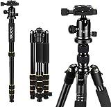 Kamerastative,Zomei Kompaktes und leichtes Aluminium-Stativ, verstellbares Einbeinstativ...