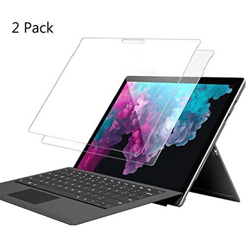 Microsoft Surface Pro 6/Surface Pro 2017/Surface Pro 4 Panzerglas Schutzfolie,Bildschirmschutzfolie Gehärtetem Glass,hochauflösende Schutzfolie für Microsoft Surface Pro 6 2018 /Pro 2017/Pro 4-[2 Stück]