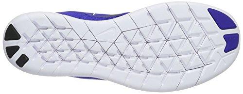 Nike Free RN, Chaussures de Running Homme Bleu (Bleu/Noir/Blanc)