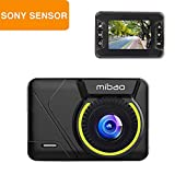 Mibao Dash Cam Dashcams for Cars 1080P Mini Car Cameras with Loop Recording