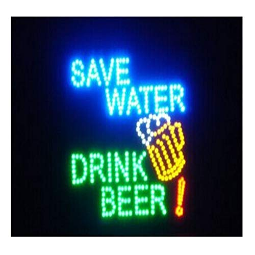 CHENXI Bar Pub Beer LED Neon Light Sign Home Decor Shop Signs of LED-Größe 48x48cm Innenbereich Modern 48 X 48 cm F