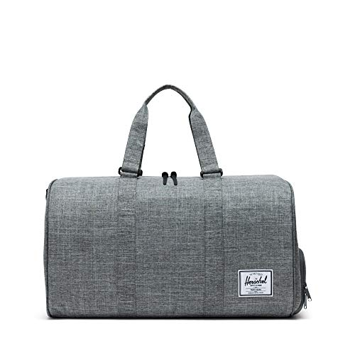 395f87101 Herschel Supply Co - Bolso de viajeNovel - Bolsa de Deporte, Raven  Crosshatch (Negro