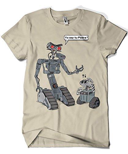 542-Camiseta Wall-e - Yo Soy Tu Padre (Samiel)