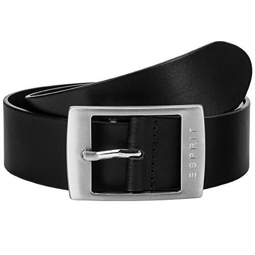 ESPRIT Accessoires Damen Gürtel 999EA1S807, Schwarz (Black 001), 6641 (Herstellergröße: 90)