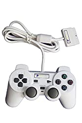 Digital Gaming World Wired Controller/Joystick For Sony PS2 (White Color) Limited Edition.