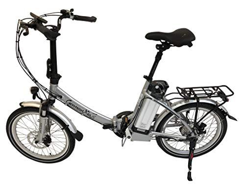 GermanXia Elektro-Faltrad Mobilemaster Touring CH-15,6 7G Shimano 20 Zoll, eTurbo 250 Watt HR-Antrieb, mit 562 Wh bis zu 140 km Reichweite nach StVZO