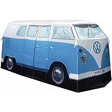 "The Monster Factory - VW CamperTent - Vier-Personen-Zelt in 1:1 VW T1 Campervan ""Bully"" Design, Farbe: Blau"