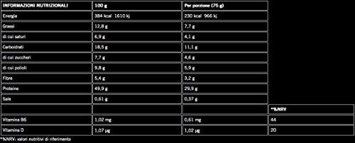 Zoom IMG-1 enervit protein bar 50 box