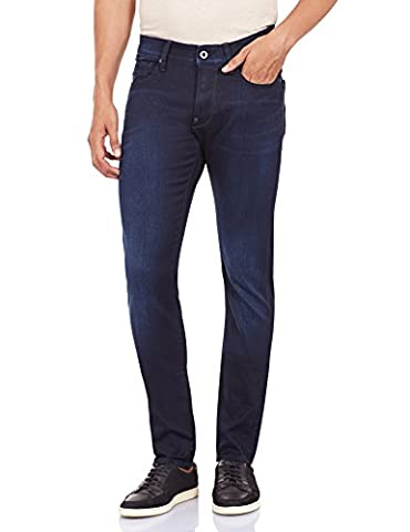 G-Star 51010-6590 - Jeans - Slim - Homme - Bleu (Dk Aged) - W33/L34 (Taille fabricant: W33/L34)
